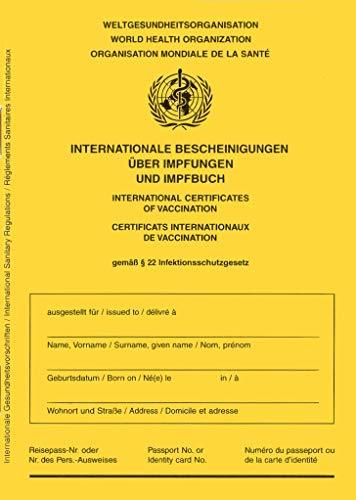 Pasaporte de vacunación, edición de 2021, certificado internacional de vacunaciones para bebés, niños, adolescentes y adultos con página adicional para COVID-19