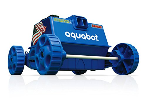 Buy Discount Aquabot APRVJR Pool Rover Junior Robotic Above-Ground Pool Cleaner,Color May Vary
