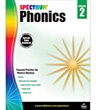 Spectrum Phonics 2nd Grade Workbook—State Standards for Blends, Consonants, Vowel Sounds and Pair Practice With Answer Key for Homeschool or Classroom (160 pgs)
