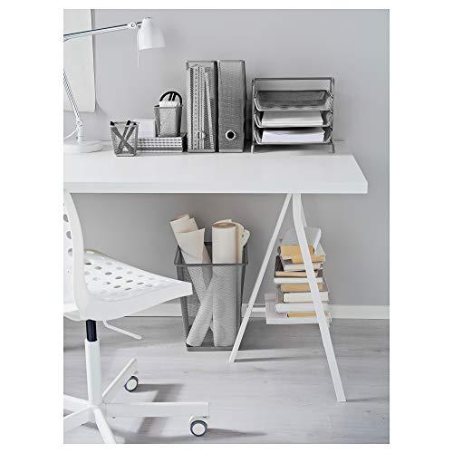 『IKEA(イケア) DOKUMENT シルバーカラー 30160997 レタートレイ、シルバーカラー』のトップ画像
