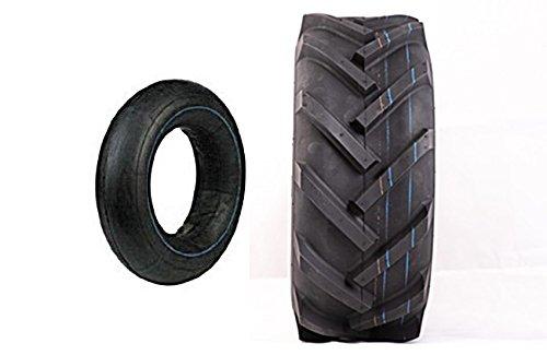 Reifen inkl. Schlauch 15x6.00-6, 6PR, TT, Deli S-247 AS für Rasentraktor