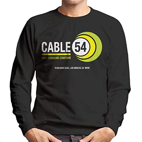 Cloud City 7 Ze leven kabel 54 mannen Sweatshirt