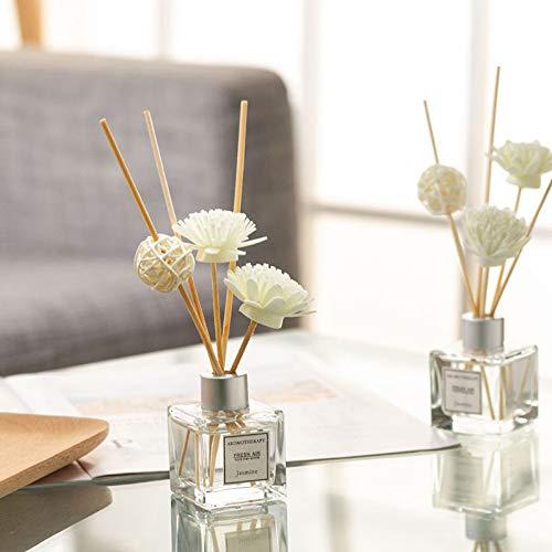 Wegji brandvrije geur etherische olie gedroogde bloem rotan sandelhout wierook huis slaapkamer geur parfum toilet deodorant geur fles