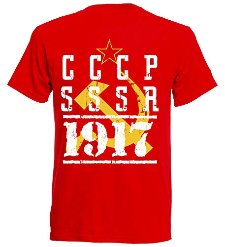 aprom CCCP T-Shirt Fußball Trikot Sport Sowjetunion R 6 (S)