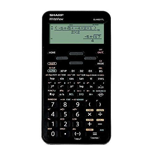 Sharp El-W531TL BK Calculadora científica, EL-W531TLB-BK