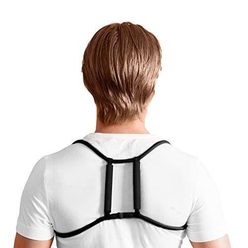 Swedish Posture Haltungstrainer Trainer für gesunde Haltung bei Sport und Fitness | Starke Rückenmuskulatur | Entlastung der Wirbelsäule | Fitnessgerät | Unterstützung beim Workout (XS-M)