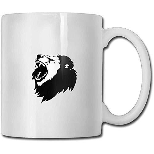 Fierce Lion koffiemok 11 ounces mannen kantoor geschenken theekop een perfect cadeau voor familie en vrienden