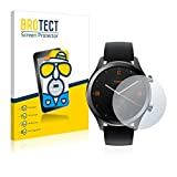 BROTECT 2X Entspiegelungs-Schutzfolie kompatibel mit Mobvoi Ticwatch C2 / E2 Bildschirmschutz-Folie Matt, Anti-Reflex, Anti-Fingerprint