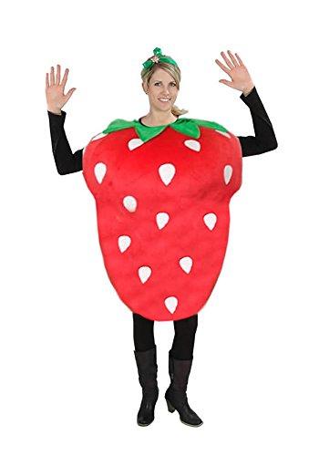 Erdbeere Kostüm Karneval Fasching Motto Party Frucht