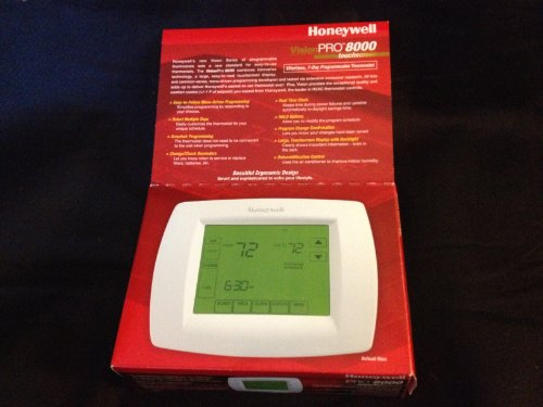 Honeywell TH8321U1006 Visionpro Universal Programmable Thermostat with Armchair Programming -