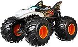 Hot Wheels GCX13 - Monster Trucks 1:24 Die-Cast Spielzeugauto Shark Wreak, Spielzeug ab 3 Jahren -