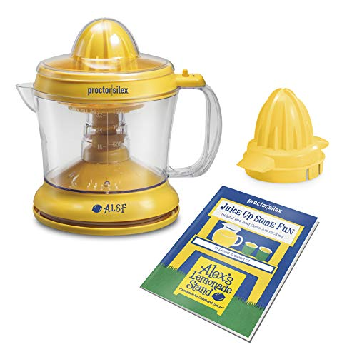 Proctor Silex Alex's Lemonade Stand Citrus Juicer Machine and Squeezer...