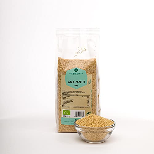 Planeta Huerto | Semillas de Amaranto en Grano Ecológico 500 gr | Alimentos Orgánicos, Biológicos y Saludables | De Alto Valor Nutricional | Para Cocinar Sopas, Ensaladas, Harinas o Masas