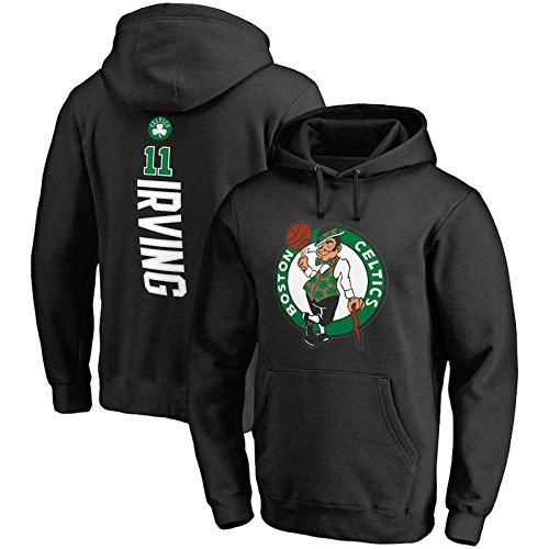 VBSD Celtics# Sudadera con capucha de baloncesto con capucha para hombre, sudadera con capucha para hombre casual de manga larga con capucha chaqueta para estudiante negro-M