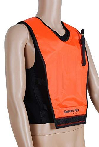 Scubapro Cruiser Snorkel Vest Adult for Men Women Inflatable Snorkeling Jacket for Snorkeling Diving Swimming, OR-MD