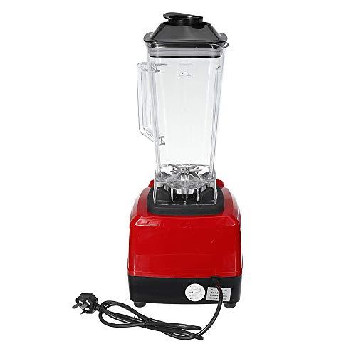 zxz Licuadora Comercial, licuadora, Cuchillas de Acero Inoxidable Protección de Seguridad Dual Sin BPA Procesador de Alimentos de Alta Potencia de fácil Limpieza, para Barra de Frutas