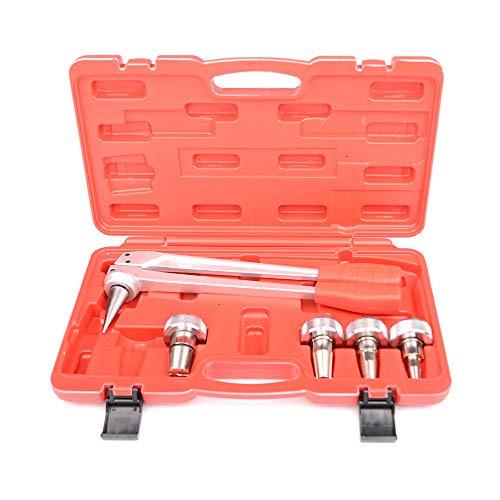 IWISS PE-1232B PEX - Juego de herramientas de expansión para tubos de 16 mm, 20 mm, 25 mm y 32 mm