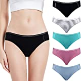 Abollria Mutande da Donna Mutandine Vita Bassa Slip Senza Cuciture Set Mutande Intimo Comode Underwear Traspirante, Pacco da 5