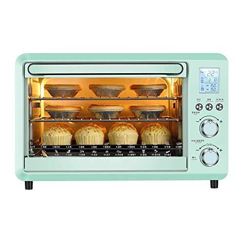 Intelligente elektronische multifunctionele oven, thermostaat en hoofdpaneel, net bakplaat en scorie-dienblad, 1500 W, inhoud 30 l.