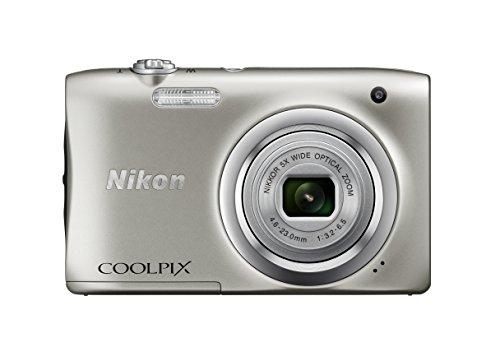"Nikon COOLPIX A100 - Cámara Digital (Cámara compacta, 1/2.3"", 4,6-23 mm, Auto), Plata"
