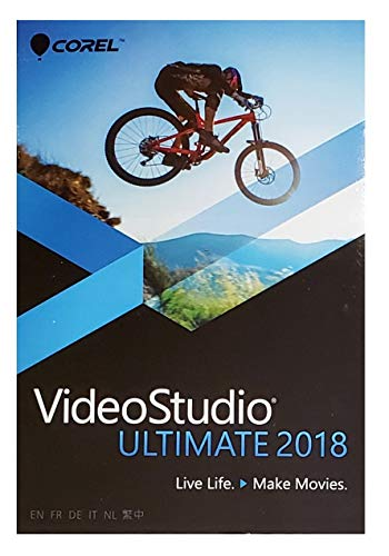 Corel VideoStudio Ultimate 2018, Standard Disc, Compatible with Windows 10, 8,7
