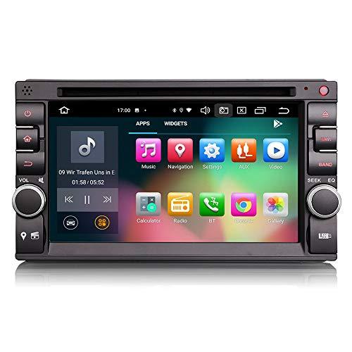 Autoradio Erisin ES8136U 6.2' PX5 64GB 2 Din Android 10.0& Auto GPS DAB+ DSP DVD er