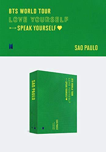 Bighit Ent BTS Bangtan Boys - BTS World Tour Love Yourself : Speak Yourself Sao Paulo DVD 2Discs+BTS Extra Photocards Set