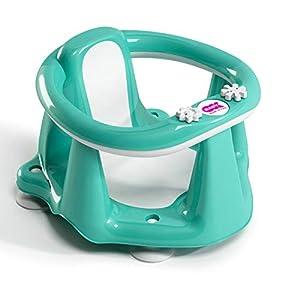 OKBABY Flipper Evolution - Asiento de baño para el interior de la bañera - para bebés de 6 a 15 meses (13 kg) - Turquesa