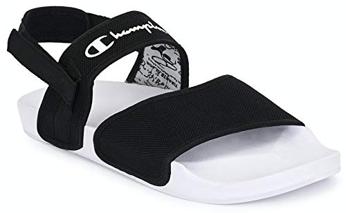 AFROJACK Washable Sports Sandals with Velcro Fastening Black