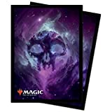 Ultra Pro 18286 Magic The Gathering-Standard Deck Protectors Sleeves 100 Pack-Celestial, Swamp, Black/Black