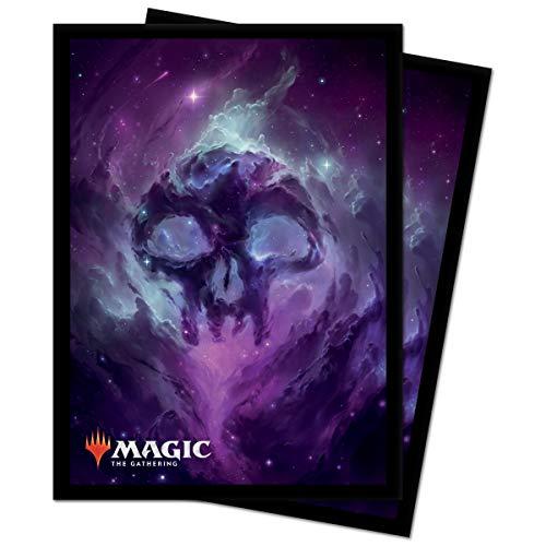 Ultra Pro 18286 Magic The Gathering-Standard Deck Protectors Sleeves 100 Pack-Celestial, Swamp, Black/Black