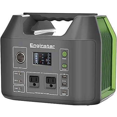 【過去最安】Enginstar 150000mAH/555Wh PD出力対応大容量ポータブル電源 純正弦波 30,550円送料無料!【本日最終日】
