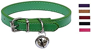 Fashion Leather Pet Collars for Cats,baby Puppies Dogs,adjustable 8