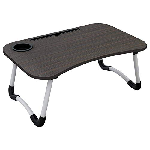 Wood Monitor Stand Laptop Stand,laptop And Screen Stand For Desktop,computer Desk Foldable Ergonomic Desktop Storage,for Home Black 60x40x28cm aycpg (Color : Black, Size : 60x40x28cm)