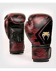 Venum Defender Contender 2.0 rękawice bokserskie, czarne/czerwone, 12 oz