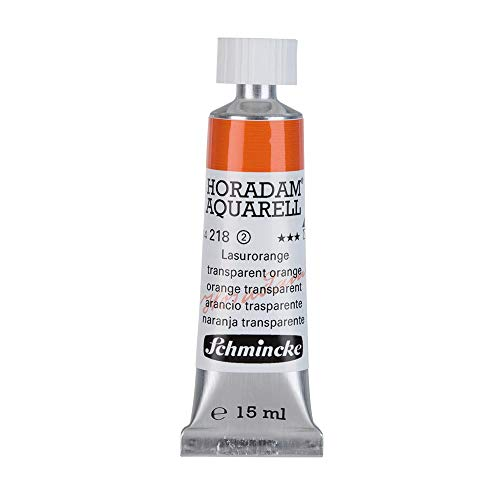 Schmincke Horadam Watercolor 15 Milliliter Tube - Transparent Orange