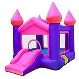 BJH Castillo de Salto Inflable, Castillo Hinchable para niños, casa de Rebote de Gorila y tobogán