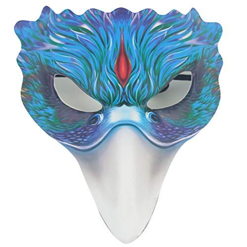 TOYANDONA Vogelmaske Tiermaske Schöne Vogelmaske Cosplay Ghost Phoenix Masken für Abendtanz Maskerade Party Dekoration