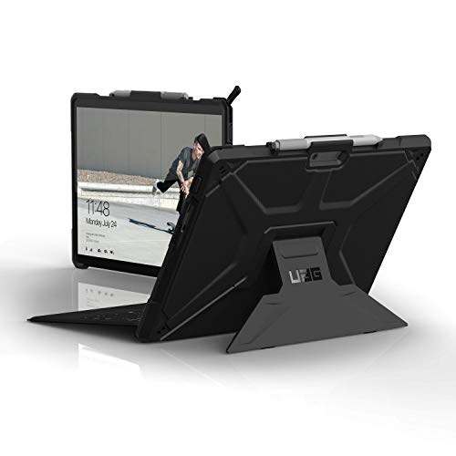 Urban Armor Gear UAG Microsoft Surface Pro x Metropolis Feather-Light Rugged [Black] Military Drop Tested Case