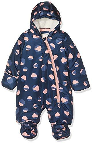 ESPRIT KIDS Baby-Mädchen RP4600109 Overall Snow Schneeanzug, Blau (Indigo 460), (Herstellergröße: 68)