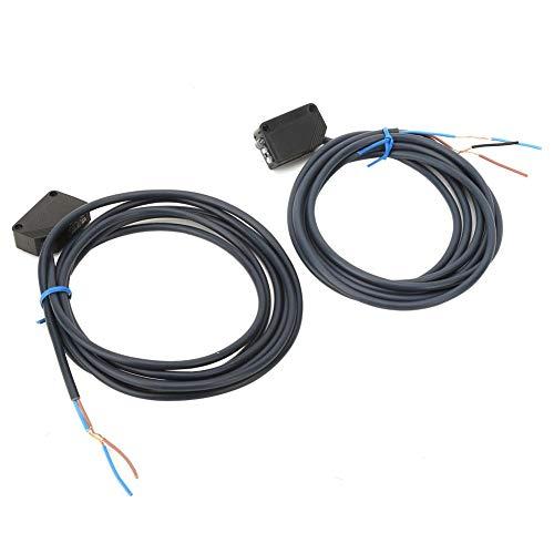 Sensor de interruptor fotoeléctrico Interruptor fotoeléctrico Diodo emisor de luz Interferencia de luz pequeña Robot Evitación de obstáculos para la línea de montaje Garaje Puerta automática