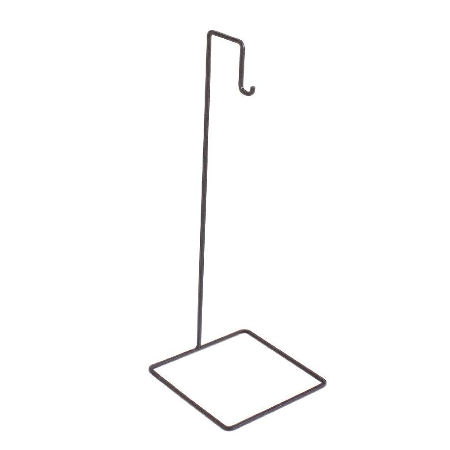 因子異邦人廊下SPICE OF LIFE フックスタンド ロータイプ ジョセフアイアン ダークブラウン 高さ35cm DTFF6160