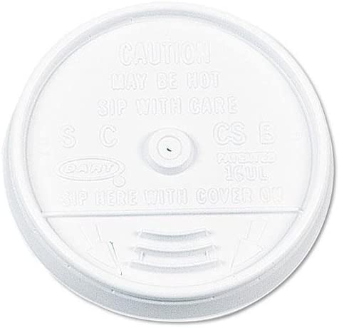 Dart Container Corporation Max 42% Bombing free shipping OFF Dcc 16Ul C-Sip-Thru Lid F Cup Foam 16