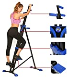MiageekSteel Alloy Stair Climber Machine, Home Gym Exercise Folding Climbing Machine,Vertical Climbing Exercise Machine, Fitness Stepper Gym, Whole Body Cardio Workout Training