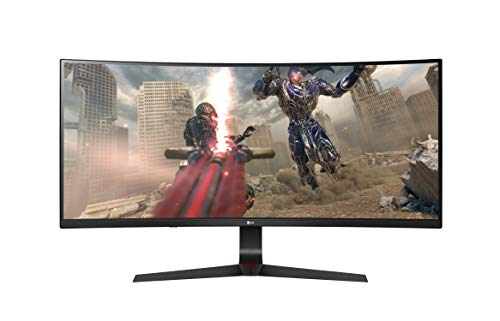 LG Ultragear 34GL750-B 34-Inch Monitor- 21: 9 Full HD 2560x1080, IPS, 144Hz, AMD Radeon FreeSync, HDR