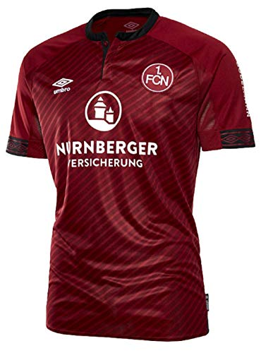 UMBRO Kinder FC Nurnberg Home SS Jersey, rot, YXL