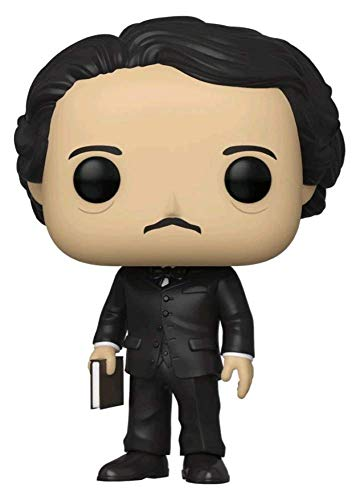 Funko Pop! Icons Edgar Allan Poe with Book 2019 NYCC Shared Sticker Exclusive