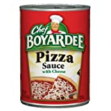 Chef Boyardee Pizza Sauce with Cheese, 15 oz, (Pack - 6)