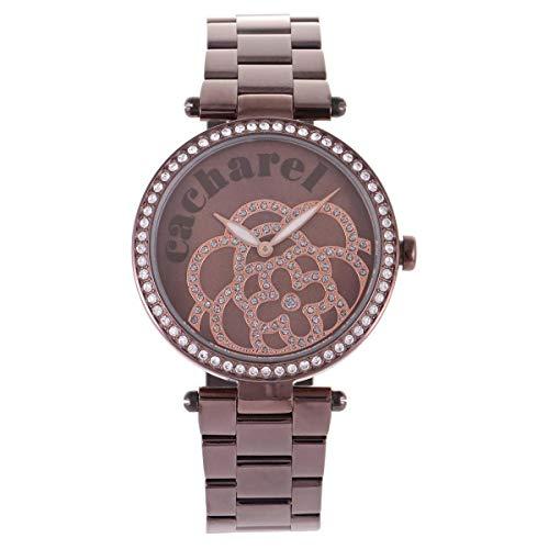 Cacharel CLD 001S-5AM - Reloj de Pulsera para Mujer (analógico, Cuarzo, Acero Inoxidable)