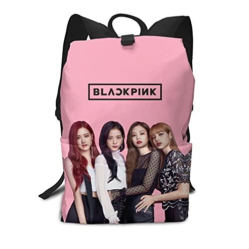 Jisoo,Jennie,Rosé,Lisa How You Like That YG álbumes 2020 agenda de verano negro-rosa Bookbag cómoda 3d adolescentes, niños, niñas, estudiantes deportes al aire libre, natación